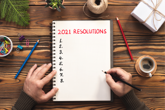 5 New Year Resolutions That You Need to Consider Making In 2021